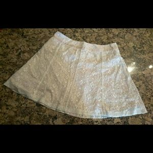 WHITE WITH PINK BACKING & BAND FROM FOREVER 21 - M